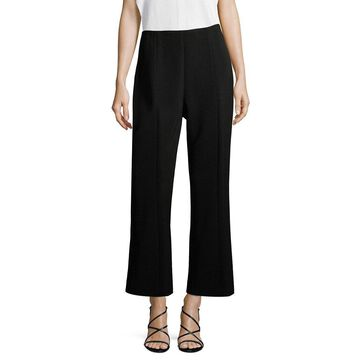 Narciso Rodriguez Womens Cropped Wool Pants