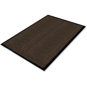 Genuine Joe Gold Dual-Rib Hard Surface Floor Mat, 72