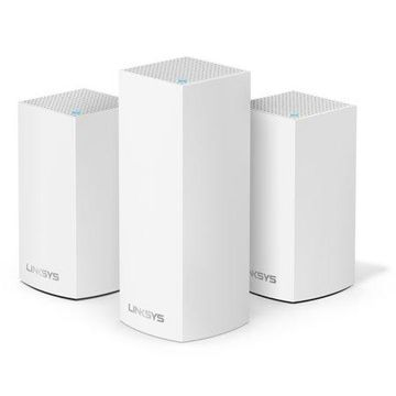 Linksys Velop Triband AC4800 Intelligent Mesh WiFi System | 3 Pack | Coverage up to 5,000 Sq Ft | Walmart Exclusive