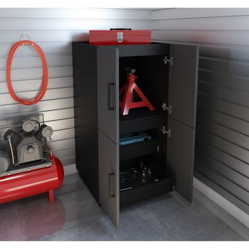 Bestar Lincoln 2 Stackable Cabinets