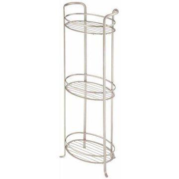 InterDesign Axis 3-Tier Free-Standing Shower Shelf