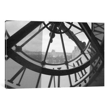 iCanvas ''Clock Tower In Paris''