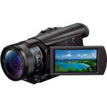 Sony FDR-AX100 4K Ultra HD Camcorder with 1& Exmor R CMOS Sensor, 12x Optical, 3.5& Touchscreen LCD, Zeiss Vario Sonnar T Lens, Wi-Fi/NFC, 4K HD Video