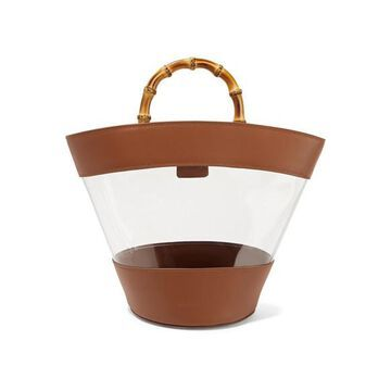 Loeffler Randall - Agnes Leather And Pvc Tote - Tan