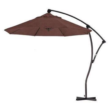 California Umbrella 9' Cantilever Umbrella in Terrace Adobe