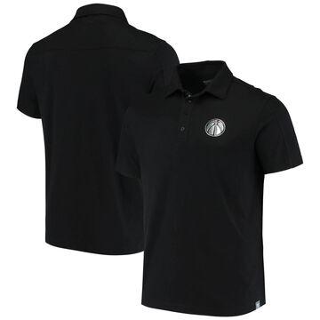 Men's Levelwear Black Washington Wizards Dart Reign Polo