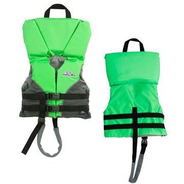 STEARNS 2000013194 HEADS-UP INFANT LIFE JACKET UP TO 30 LBS GREEN