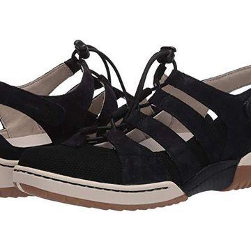 Dansko Riona (Black Suede) Women's Shoes