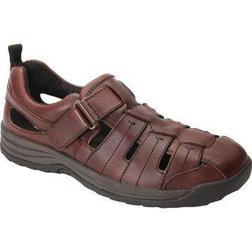 Drew Shoe Mens dublin Leather Closed Toe Sport Sandals