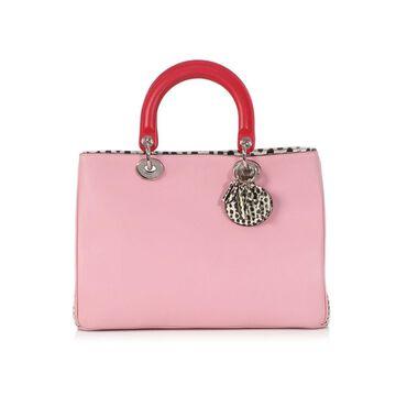 Dior Lady Dior Multicolour Leather Handbag