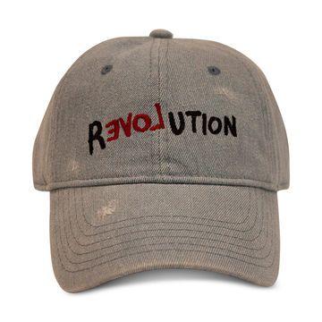 Men's Revolution Heavy Wash Denim Baseball Hat, Created for Macy's
