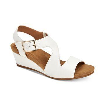 Belinaa Memory Foam Wedge Sandals, Created for Macy's