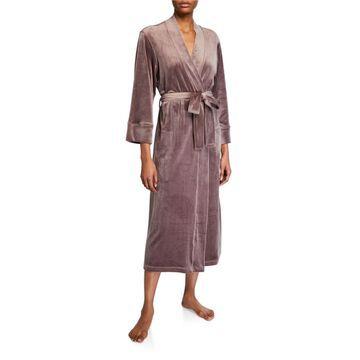 Plush Velour Robe