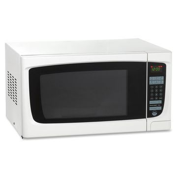 Avanti 1.4 CF Electronic Microwave with Touch Pad - Single - 1.40 ft Main Oven - 10 Power Levels - 1 kW Microwave Power - White
