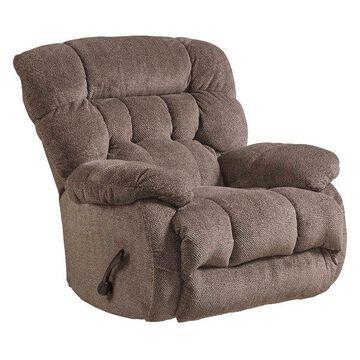 Chaise Swivel Glider Recliner in Chateau