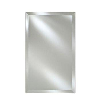 Afina Radiance Frameless Bevel Rectanglular Mirrors, 16x22