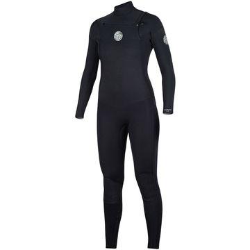 Rip Curl Dawn Patrol 3/2 Chest-Zip Full Wetsuit - Women's