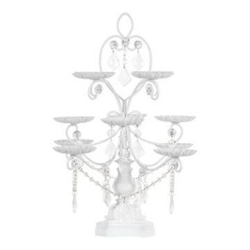 Amalfi Madeleine Crystal-Draped Cupcake Stand - 12 Piece