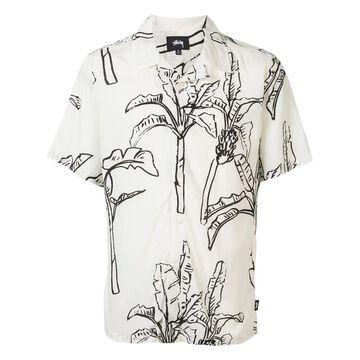 banana tree print shirt