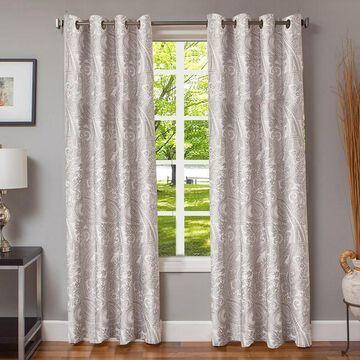 Softline 1-Panel Morena Paisley Window Curtain