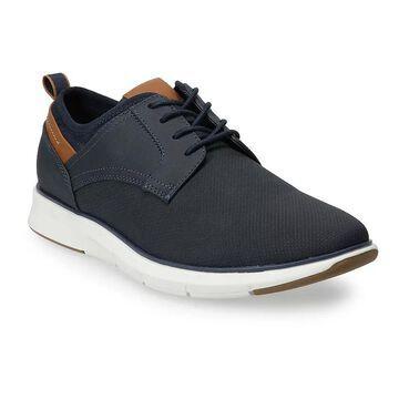 Sonoma Goods For Life Men's Ronan Oxford Shoes, Size: 7.5, Dark Blue
