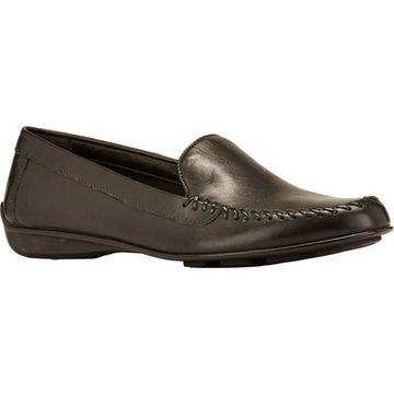 Walking Cradles Women's Mercer Loafer Black Leather