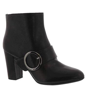 Anne Klein Womens Novo Leather Almond Toe Mid-Calf Fashion Boots