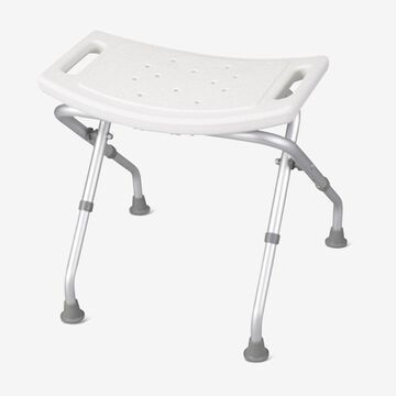Folding Shower Chair by Drive Medical in White