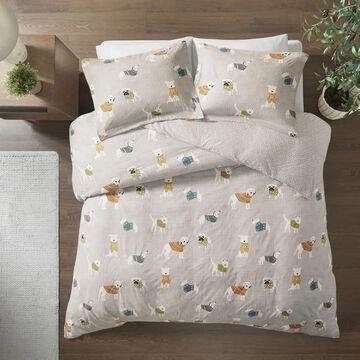 True North by Sleep Philosophy Cozy Flannel Duvet Set