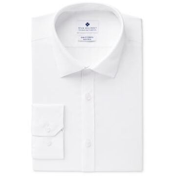 Ryan Seacrest Distinction Men's Ultimate Slim-Fit Non-Iron Performance White Dress Shirt, Created for Macy's
