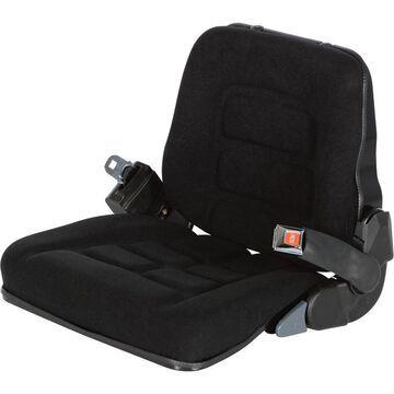 Vestil Industrial Fork Truck Seat - Black, Model LTS-C