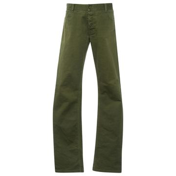 Givenchy Green Cotton Trousers