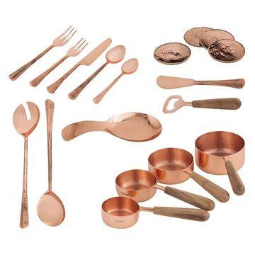 Pomeroy Coppersmith Kitchen Set of 18, Copper