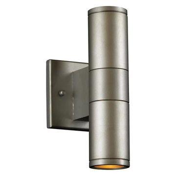 PLC Lighting 8024AL Plc 2 Light Outdoor Fixture Troll-Ii Collection 80