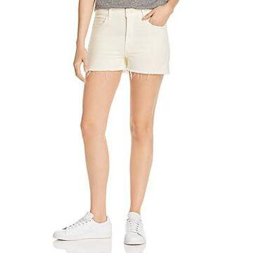 Mother The Dutchie Frayed Denim Shorts