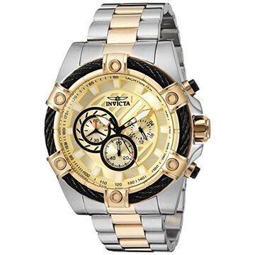 Invicta Men's 25518 'Bolt' Quartz Chronograph Stainless Steel Watch