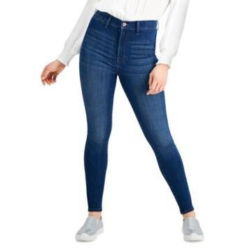 Kendall + Kylie Juniors' High-Rise Skyscraper Skinny Jeans
