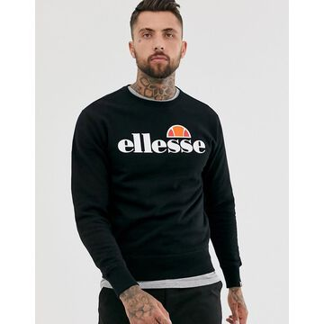ellesse Succiso sweatshirt with classic logo in black
