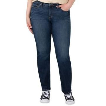 Silver Jeans Co. Plus Size Most Wanted Straight-Leg Jeans