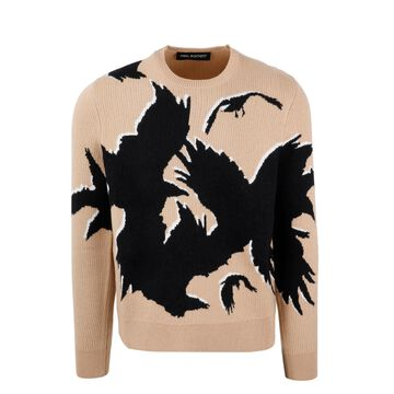 Neil Barrett Three Eyed Ravens Sweater