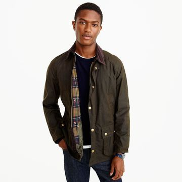 Barbour& Sylkoil Ashby jacket
