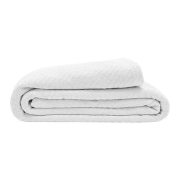 Elite Home Products King Organic Cotton Blanket