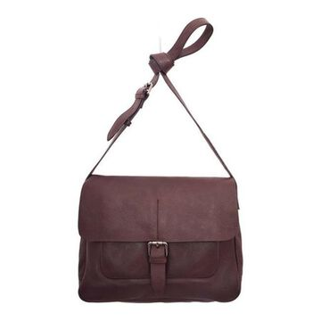 Latico Women's Blake Messenger Bag 3801 Mahogany Leather - US Women's One Size (Size None)