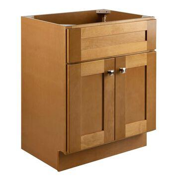 Design House Brookings 24-in Modern Birch Bathroom Vanity Cabinet in Brown | 587105