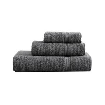 Vera Wang Splendid Solid Towel Set, 3 Piece Bedding