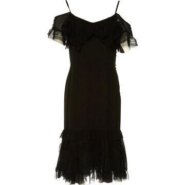 John Galliano \N Black Silk Dresses