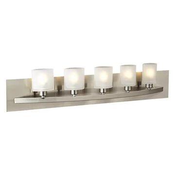 PLC Lighting 645SN 5-Light Vanity Wyndham Collection