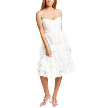 Bardot Tiered Cocktail Dress
