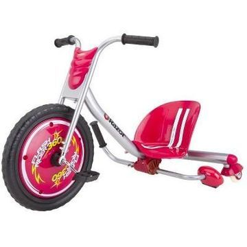 Razor Flash Rider 360 Drifting Trike Ride-On Tricycle, Red -- 20036559