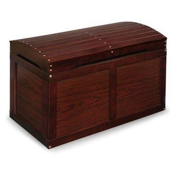 Badger Basket Barrel Top Toy Box in Cherry